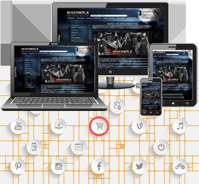 site ecommerce responsive