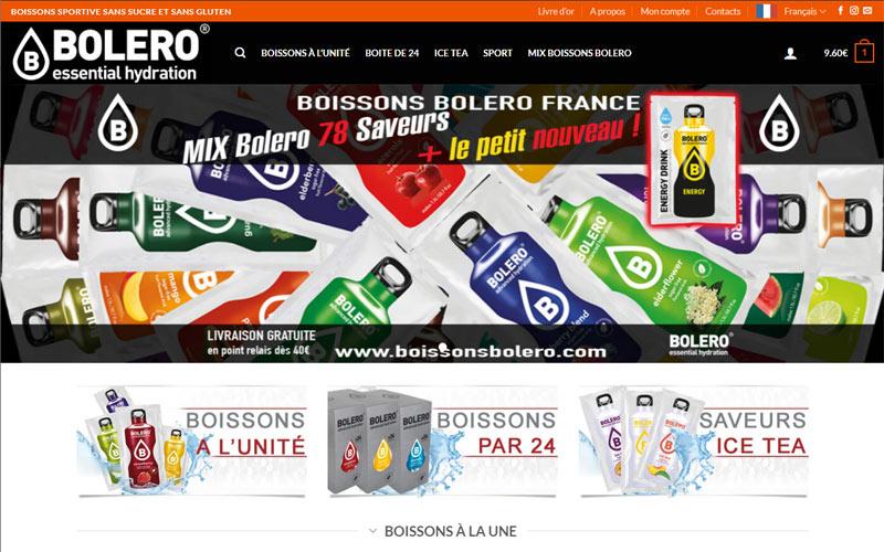 boutique en ligne de Boissons Bolero France