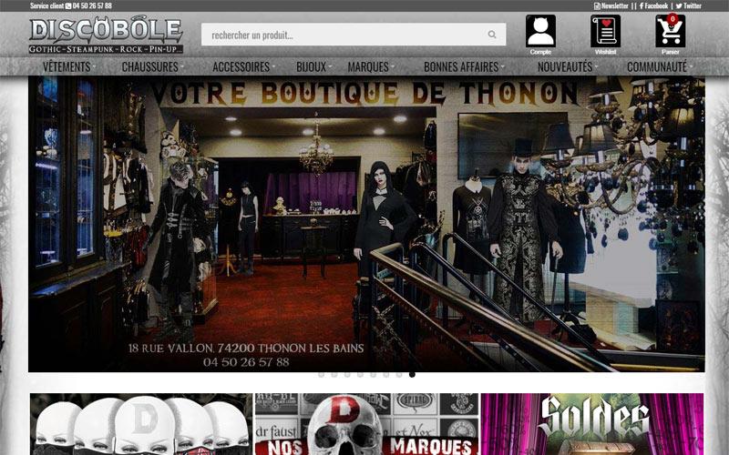 boutique en ligne de Discobole
