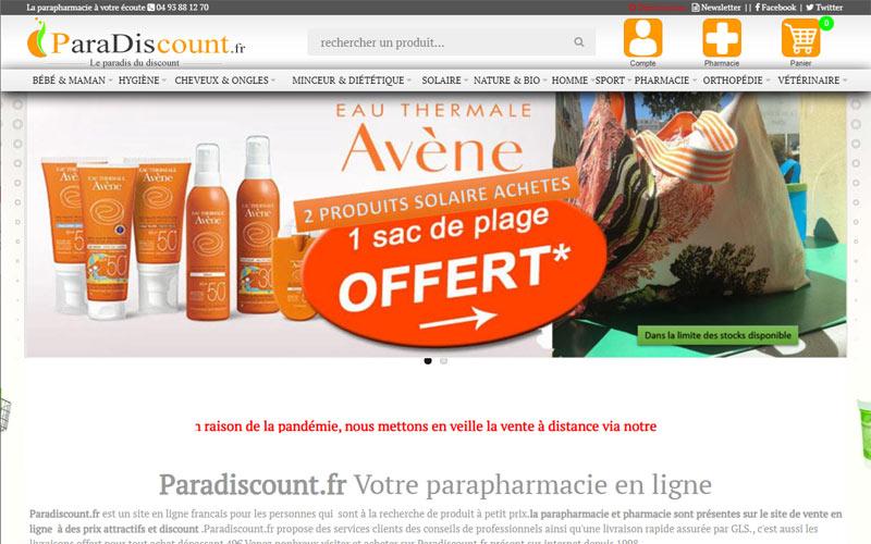 parapharmacie en ligne de la pharmacie BRU